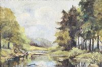 THE DERWENT VALLEY by English School at Ross's Auctions