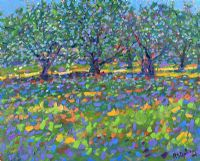 APPLE BLOSSOM ORCHARD by Paul Stephens at Ross's Auctions