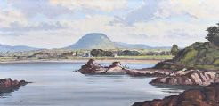 LURIG MOUNTAIN, CUSHENDALL by Samuel McLarnon UWS at Ross's Auctions