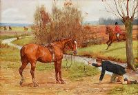 BETTER LUCK NEXT TIME by George Goodwin Kilburne RI ROI RMS at Ross's Auctions