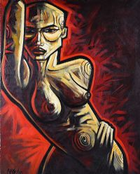 NUDE by Terry Bradley at Ross's Auctions