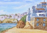 IN THE ALGARVE by Joaquim Serrano at Ross's Auctions