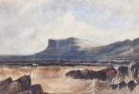 FAIRHEAD, COUNTY ANTRIM by Andrew Nicholl RHA at Ross's Auctions