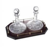 PAIR OF WATERFORD CRYSTAL SHIP'S DECANTERS at Ross's Auctions