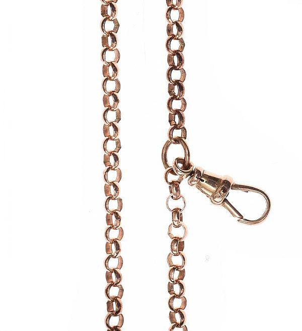 9CT ROSE GOLD BELCHER CHAIN at Ross's Online Art Auctions