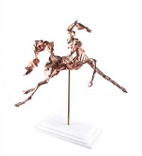 PRANCING HORSE by Irish School at Ross's Auctions