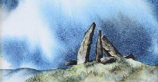 STANDING STONES, DONEGAL by George A. Gourley at Ross's Auctions