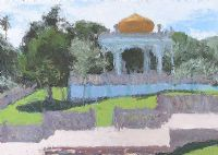TOMB OF SULTAN BOLKIAH, BRUNEI by Colin Watson ARUA at Ross's Auctions