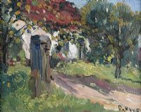 SUMMER GARDEN by David Hone at Ross's Auctions