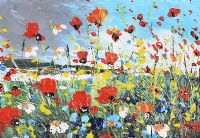WILD FLOWERS by Irish School at Ross's Auctions