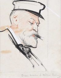 SEA CAPTAIN by Sir Robert Ponsonby Staples Bt RBS at Ross's Auctions