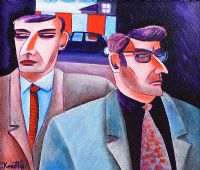 THE BODYGUARDS by Graham Knuttel at Ross's Auctions