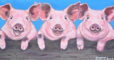PIGGY PALS by Josephine Guilfoyle at Ross's Auctions