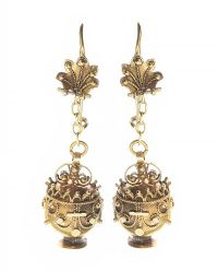 GEORGIAN 18CT GOLD EARRINGS at Ross's Jewellery Auctions