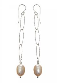 SILVER AND FRESH WATER PEARL EARRINGS at Ross's Jewellery Auctions
