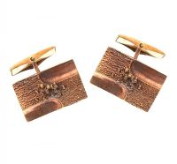 ROSE GOLD TONE CUFFLINKS at Ross's Jewellery Auctions