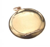 9CT GOLD COMPACT PENDANT at Ross's Jewellery Auctions