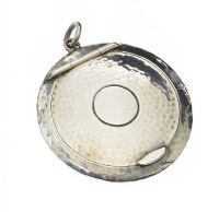 STERLING SILVER COMPACT PENDANT at Ross's Jewellery Auctions