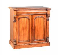 VICTORIAN MAHOGANY SIDE CABINET at Ross's Auctions