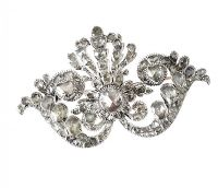 ROSE-CUT DIAMOND BROOCH at Ross's Auctions