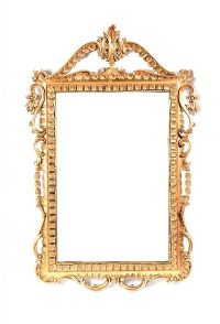 ORNATE GILT WALL MIRROR at Ross's Auctions