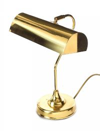 BRASS BANKER'S LAMP at Ross's Auctions