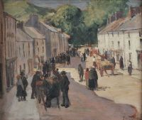 CUSHENDALL FAIR by James Humbert Craig RHA RUA at Ross's Auctions